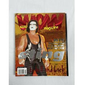 STING WOW WORLD OF WRESTLING T 1999 MAGAZINE ISSUE